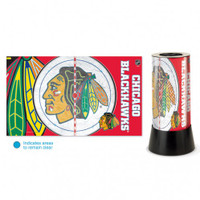 Chicago Blackhawks Rotating Team Lamp