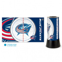 Columbus Blue Jackets Rotating Team Lamp