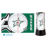 Dallas Stars Rotating Team Lamp
