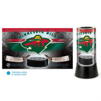 Minnesota Wild Rotating Team Lamp