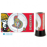 Ottawa Senators Rotating Team Lamp