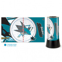 San Jose Sharks Rotating Team Lamp