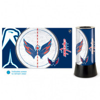 Washington Capitals Rotating Team Lamp