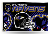 Baltimore Ravens Team Flag