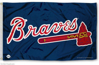 Atlanta Braves Team Flag