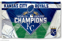 Kansas City Royals 2015 World Series Champions 3' x 5' Flag