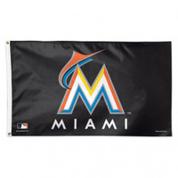 Miami Marlins Team Flag