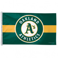 Oakland Athletics Team Flag