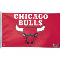 Chicago Bulls Team Flag