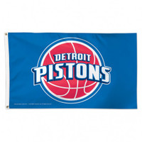 Detroit Pistons Team Flag
