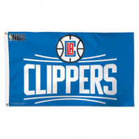 Los Angeles Clippers Team Flag