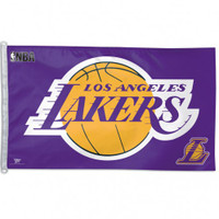 Los Angeles Lakers Team Flag