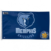 Memphis Grizzlies Team Flag