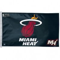 Miami Heat Team Flag