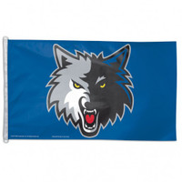 Minnesota Timberwolves Team Flag