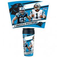 Carolina Panthers 16oz Travel Mug