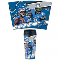 Detroit Lions 16oz Travel Mug