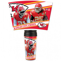 Kansas City Chiefs 16oz Travel Mug