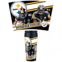 Pittsburgh Steelers 16oz Travel Mug
