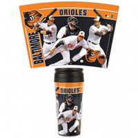 Baltimore Orioles 16oz Travel Mug