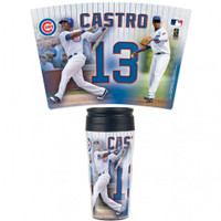 Chicago Cubs 16oz Travel Mug