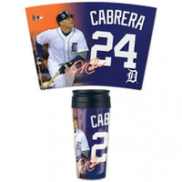 Detroit Tigers 16oz Travel Mug