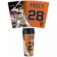 San Francisco Giants 16oz Travel Mug