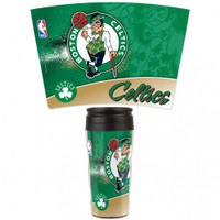Boston Celtics 16oz Travel Mug