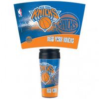 New York Knicks 16oz Travel Mug