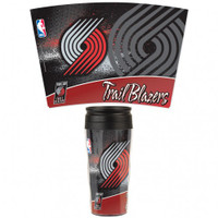 Portland Trail Blazers 16oz Travel Mug