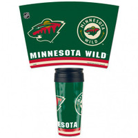 Minnesota Wild 16oz Travel Mug
