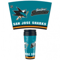 San Jose Sharks 16oz Travel Mug