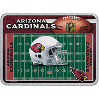 Arizona Cardinals Glass Cutting Board