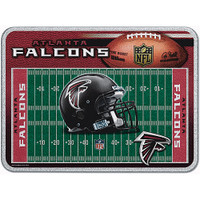 Atlanta Falcons Glass Cutting Board