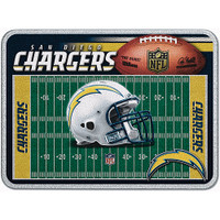 San Diego Chargers Glass Cutting Board