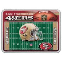 San Francisco 49ers Glass Cutting Board