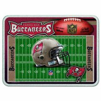Tampa Bay Buccaneers Glass Cutting Board