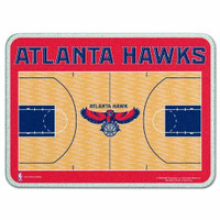 Atlanta Hawks Glass Cutting Board