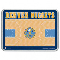 Denver Nuggets Glass Cutting Board