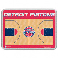 Detroit Pistons Glass Cutting Board