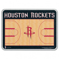 Houston Rockets Glass Cutting Board