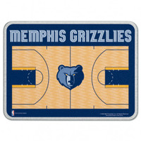 Memphis Grizzlies Glass Cutting Board