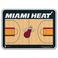 Miami Heat Glass Cutting Board