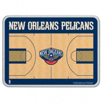 New Orleans Pelicans Glass Cutting Board