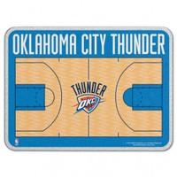 Oklahoma City Thunder Glass Cutting Board