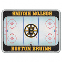 Boston Bruins Glass Cutting Board