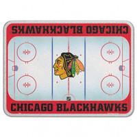 Chicago Blackhawks Glass Cutting Board