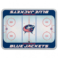 Columbus Blue Jackets Glass Cutting Board