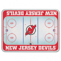 New Jersey Devils Glass Cutting Board
