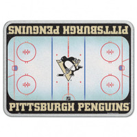 Pittsburgh Penguins Glass Cutting Board